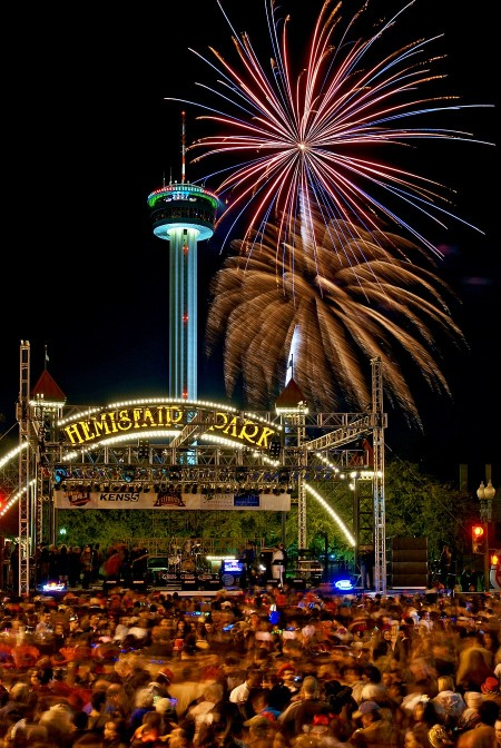 San Antonio New Year's Celebration